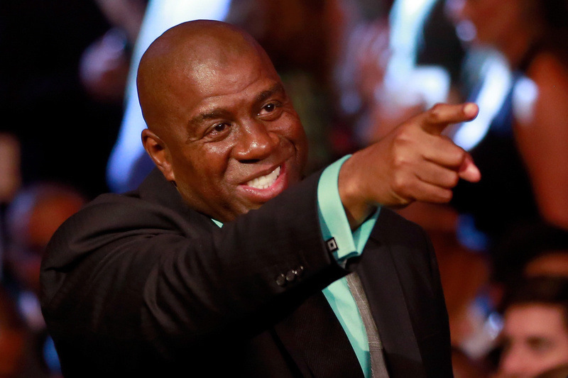 Magic Johnson Ebola