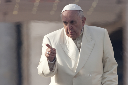 Pope Francis Aggression