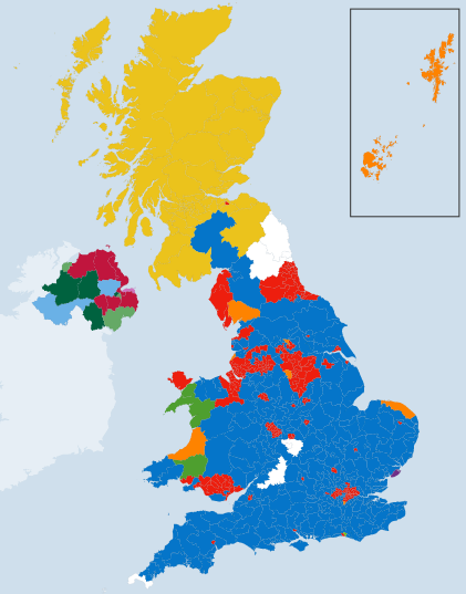 2015 Election UK Results