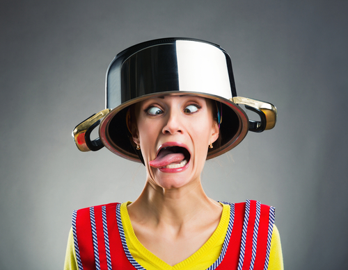 Pot Head Lady
